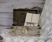 White Wedding Card Box, Small, Card Box, Advice Box
