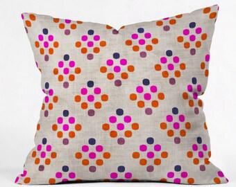 Diamond Weave Throw Pillow
