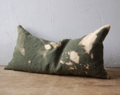 drifter cushion with buckwheat hulls and dried lavender filling