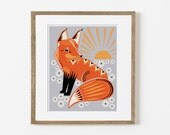 twilight fox print