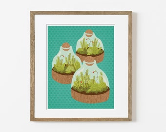 terrariums print