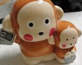 Ceramic Little Monkeys Bank