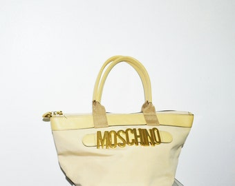 MOSCHINO by REDWALL  vintage nylon tote bag  Vintage Moschino bag