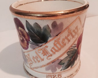 Neel Lafferty Shaving Mug dated 1926