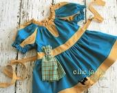 Merida Brave Peasant Top Play Top Costume