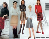 Medium sizes 3 styles skirts sewing pattern Butterick 6794 Pleated front or Kilt style wrap front
