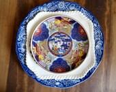 Mixed Lot of Decorative Plates Staffordshire England Johnson Bros Imari Blue & White
