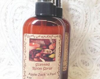 Room Spray Apple Jack 'n Peel - 4 ounce bottle