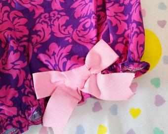 Gothic lolita bloomers, damask print fairy kei pastel goth barbie fashion size small s
