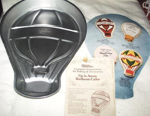 Wilton Cake Decorating Balloons : Wilton Cake pan 1982 Up n Away Balloon Pan w insert and