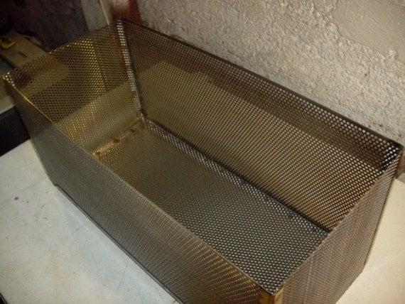 Wood Pellet Basket- 100% Stainless Steel Wood Stove ...