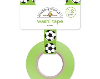 Soccer Balls Washi Tape • Goal!! Decorative Tape • Soccer Ball Washi Tape • Goal!! Soccer Balls (4794)