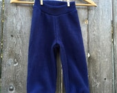 Fleece Longies --- Anti Pill Yoga Pants (((with leg cuff)))
