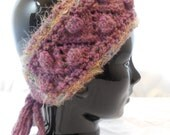 Wool Adult Hand-knit Head-band