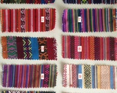 Ethnic Woven Cotton Fabric / Bohemian cloth / Mexican weave / Jacquard woven fabric / Picnic blanket cloth / Tribal geometric fabric