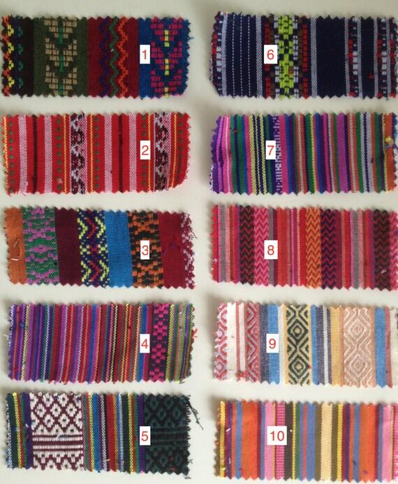 Ethnic Woven Cotton Fabric / Bohemian Cloth / Mexican