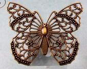 Filigree Butterfly, Brass Ox, Trinity Brass AB153