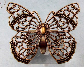 Filigree Butterfly, Brass Ox, Trinity Brass AB153