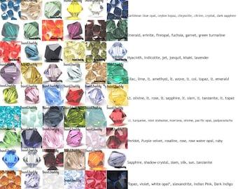 Clearance 500 pcs Swarovski 5301 / 5328 4mm Bicone Beads - U Choose COLORS