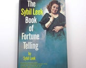 The Sybil Leek Book of Fortune Telling Vintage 1960s Instructional Book by Sybil Leek Illustrated by Julian Leek