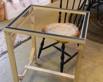 Standing Floor Frame for Rug Hooking - from Notforgotten Farm™