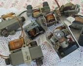 Collection Vintage Steampunk Industrial Components Mixed Media Art