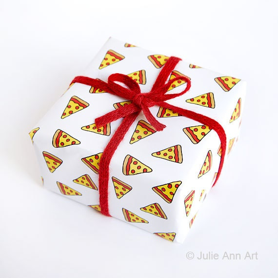 Funny Gift Wrapping Meme : Funny wrapping paper geek gift wrap pizza