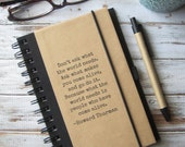 Quote Journal Notebook Writing Journal Inspirational Gift for Artist Graduation Gift for Teens Men Boys Friend Gift Howard Thurman Zany