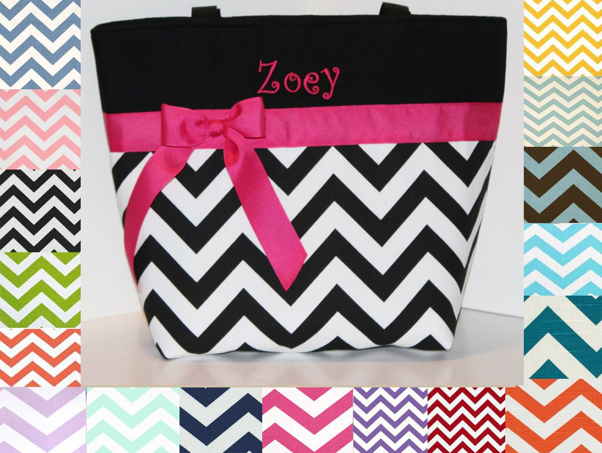 chevron diaper bag design your own chevron tote weekender. Black Bedroom Furniture Sets. Home Design Ideas