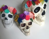 Maria Skull with flower crown