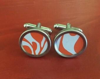 Mens cufflinks.  Womens cuff links.  Anniversary gift.   Gifts for men and women.  Mens birthday gift.