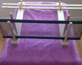Lease Stick and Reed Holder Fully Adjustable and Storable Weaving Equipment