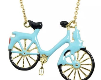 Tiffany's Bicycle Necklace