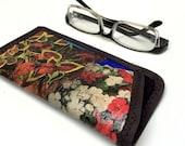 Funky Fused Plastic Eyeglass Case