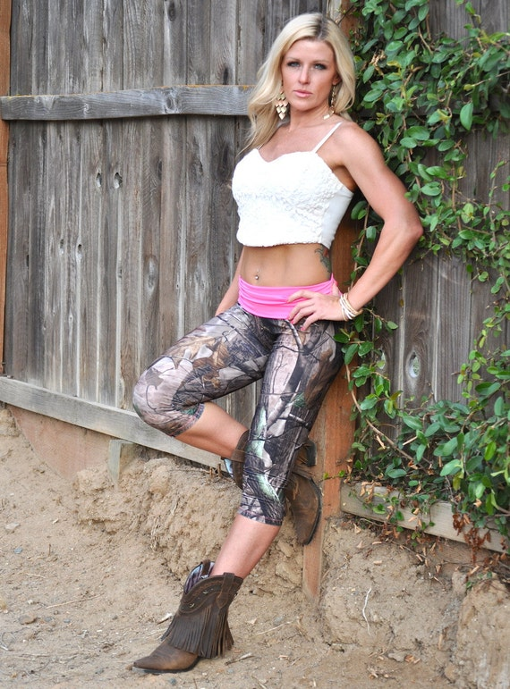 Lastest Women39s Printing Customize Yoga Pants Camo Capri Gym Yoga Pants View
