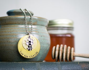 Bee the Change - Plucky Charms Necklace