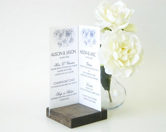 Menu Card Holder + Bi-Fold Card Holder + Brochure Holder (Set of 10)