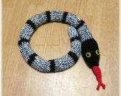 Reserved for iancbishop Door Draft Stopper Snake , Crochet Draft Dodger, Door Draft Snake