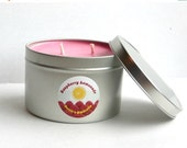 MOVING SALE Raspberry Lemonade, Scented Soy Candle, 16 oz Candle, Fresh, refreshing, Spring, Fruity, Fruit Scented Candle