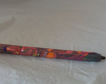 Multi Color Polymer Clay Pen