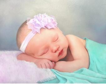 Custom Digital Portrait Painting