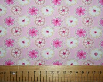 "Liberty Tana Lawn ""TORIA"" pink 20 x 20cm (8 x 8"")"