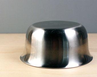 Cultura Sweden stainless steel small serving bowl. Scandinavian modern design.