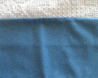 1/2 Yard  Cotton  Quilt Fabric  Light Blue on Medium Blue