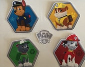 Paw Patrol - Iron On Fabric Appliques, kids