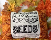 Autumn Halloween Ornamental Mini Pillow Your Choice of One