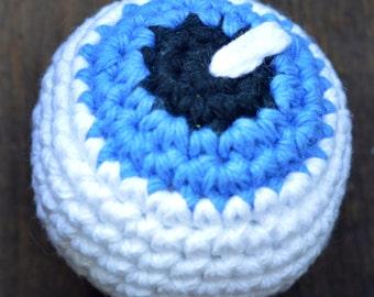 Blue Eyeball Cat Toy