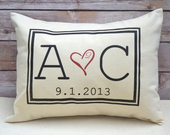 Second anniversary, 2nd anniversary gift, 40th anniversary, valentine gift, co-wedding, black monogram, cotton anniversary, trending now,