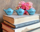 You are loved gift / Christmas gift for her / gifts for mom / bird gift for women grandma mother / teenager gift for girls