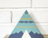 Wood Teepee Home Decor - Reserved for SWC